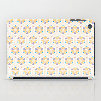 Abstract Geometric Kids Pattern iPad Case by Cinema4design
