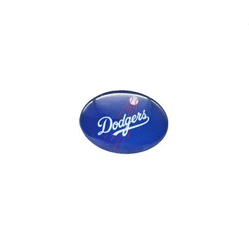 Snap Button 18mmX25mm MLB Los Angeles Dodgers Charms Snap Bracelet for Women Men Baseball Fans Gift Paty Birthday 2017