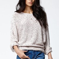 Kendall & Kylie Cocoon Pullover Sweater - Womens Sweater - White