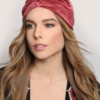 GOOD FORTUNE TURBAN - PINK