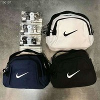 NIKE 2018 swoosh mini bag spoof messenger bag clip bag handbag F-Great Me Store