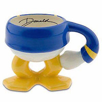 disney parks best of mickey ceramic coffee mug donald duck legs new