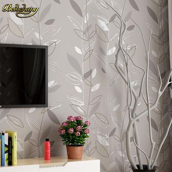 beibehang Modern fashion autumn leaves mural wallpaper for walls 3 d Wall Paper For Bedroom Living Room wall papers home decor