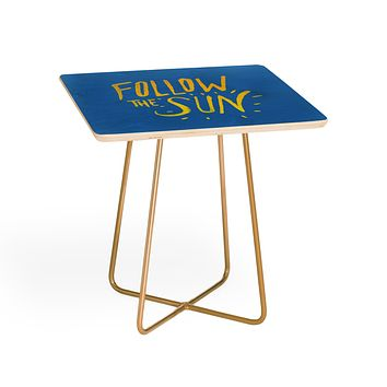 Leah Flores Sun Follower Side Table