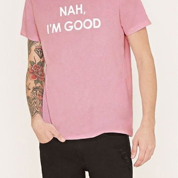 Good Graphic Tee | 21 MEN - 2000152539