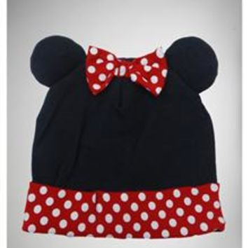 Minnie Mouse Cuffed Cap