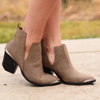 Step By Step Booties - Olive