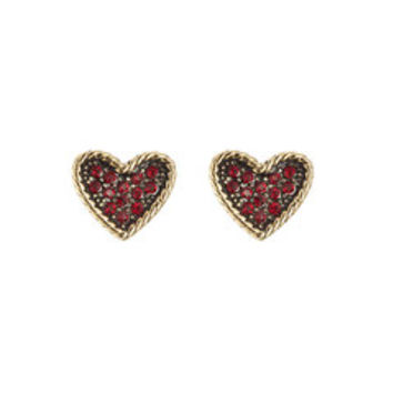 Embellished Heart Earrings - Marc Jacobs | WOMEN | US STYLEBOP.com