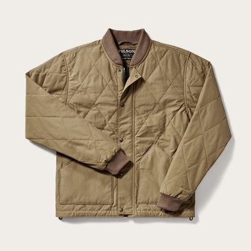 Filson - Quilted Sportsman Tan Pack Jacket