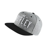 Hurley All Day Snap Men's Adjustable Hat Size 1SZ (Grey)