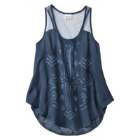 Mossimo Supply Co. Junior's Knit to Woven Tank - Assorted Colors