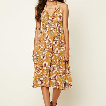 Contemporary Floral Cami Dress