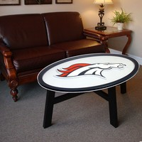 Denver Broncos Coffee Table (Black)