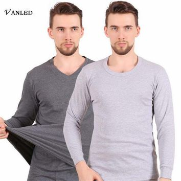 VANLED Genuine Underwear Long Johns Winter Mens Warm Thermal Underwear Add Cotton Long Johns Thick Plus Thermal Long Johns Sets