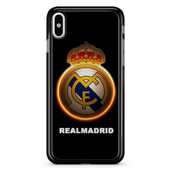 Real Madrid Logo 95 iPhone X Case