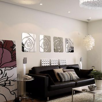 3D Decorative Acrylic Wall Art  for the Living Room. Home Decor