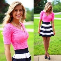 Think Pink Crop Top
