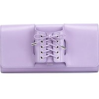 Perrin Paris Lace-up Glove Clutch - H. Lorenzo - Farfetch.com