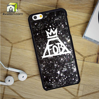 Fall Out Boy Sparkle iPhone 6 Case by Avallen