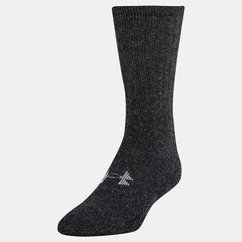 Under Armour UA Men's ColdGear Charged Wool 2 Pack of Boot Socks 2 Pair of Socks
