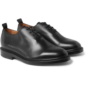 Thom Browne - Whole-Cut Leather Oxford Shoes | MR PORTER