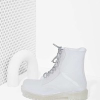 Roadie Combat Rain Boot - Clear