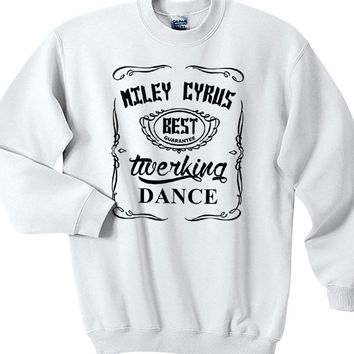 Miley Cyrus Twerking Dance Sweatshirts Unisex Sweater Unisex Sweatshirt Unisex Adult Sweater