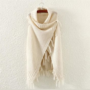 Comfortable Knitted Cardigan Sweater