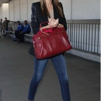 Frame Denim Le Skinny de Jeanne in Columbia Road - as seen on Miranda Kerr | SINGER22.com