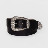 Women's Western Belt - Mossimo Supply Co.™ Black