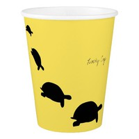 Funky and Stylish Lucky Tortoise Paper Cup