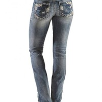 Silver Tuesday Low Rise Bootcut Jeans - Sheplers