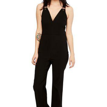 Rebelle Flared Black Romper