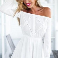 ON SALE ONE WORD CUTE ROMPER SOFT