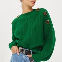 Button Detail Jumper - New In Fashion - New In