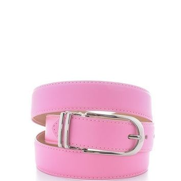 Pink Adjustable Belt