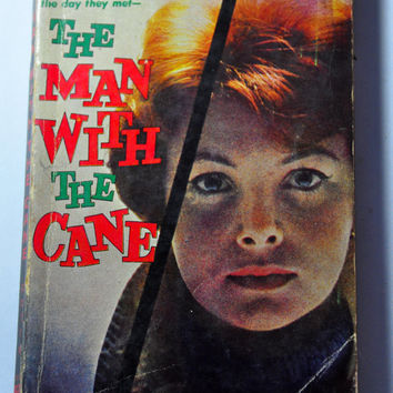 1950s Paperback Novel - The Man WIth the Cane by Jean Potts, 1957