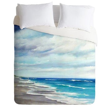 Rosie Brown Beach 1 Duvet Cover