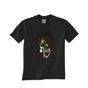game of the thrones the legend of zelda Custom Tshirt for men's , T shirt Cotton, Funny T shirt, Awesome T shirt, best design and clothing