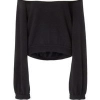 Convertible Collared Cashmere Sweatshirt | Moda Operandi
