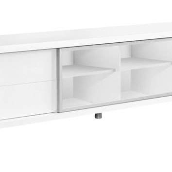 "Tv Stand - 70""L / White Euro Style"
