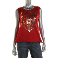 Harry Potter Womens Metallic Graphic Tank Top