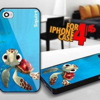 Finding Nemo Squirt for iPhone 4 / 4s Black case