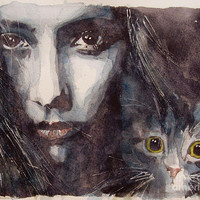Nothing Compares To You  Painting by Paul Lovering - Nothing Compares To You  Fine Art Prints and Posters for Sale