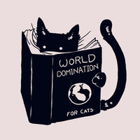 World Domination For Cats Art Print by Tobe Fonseca