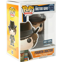 Funko Doctor Who Pop! Television Fourth Doctor Vinyl Figure Hot Topic Exclusive Pre-Release