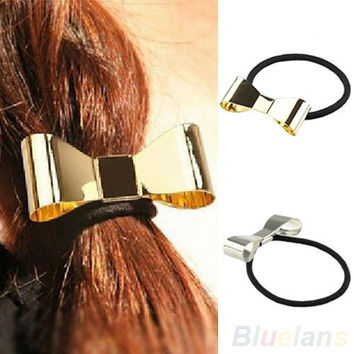 Fashion Metal Bow Tie Hair Band