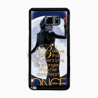 ONCE UPON A TIME Evil quenn APPLE for Samsung Galaxy Note 5 Case *NP*