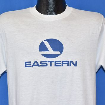 80s Eastern Airlines Logo t-shirt Medium