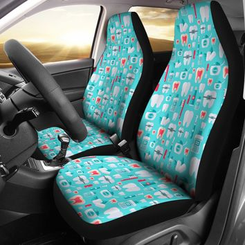 Dentist Pattern Car Seat Covers